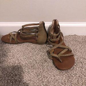 JellyPop Gladiator Sandals SIZE 8